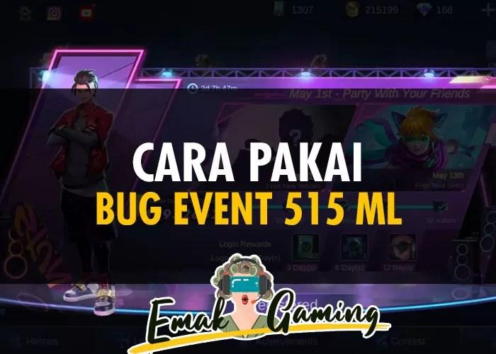 Bug Event 515 ML