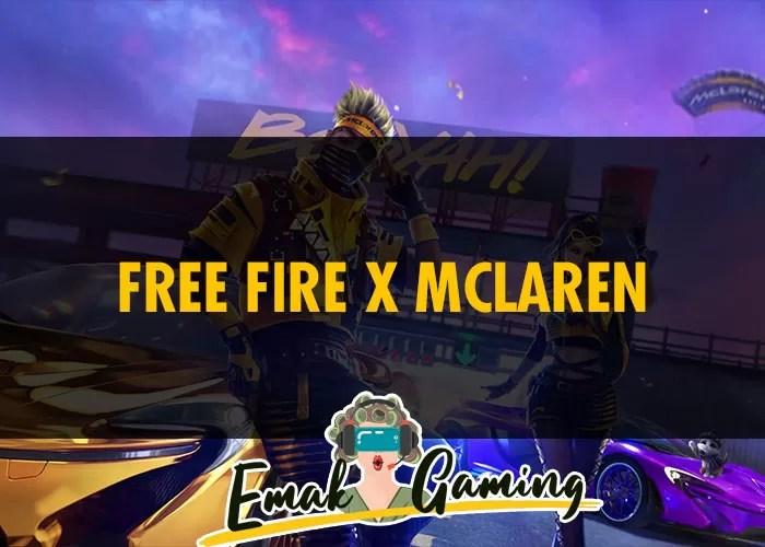 Free Fire x Mclaren