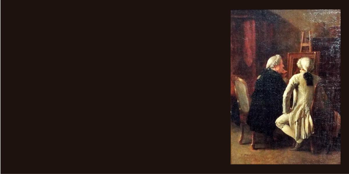Ateliê de Artista no Século XIX
