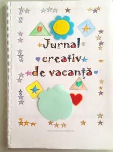 jurnal creativ de vacanta