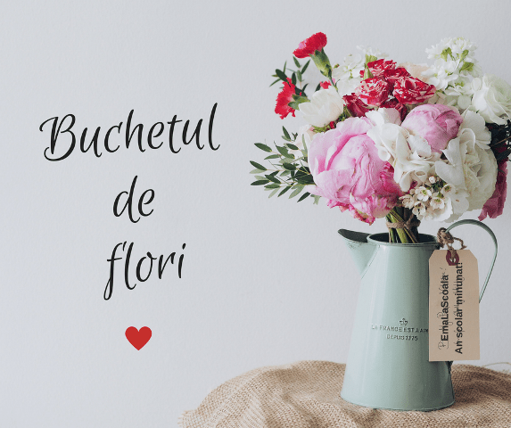 buchetul de flori