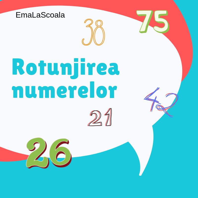 rotunjirea numerelor