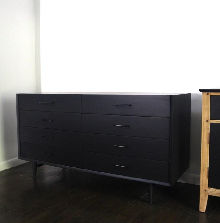 Em & Wit Design Richmond American of Martinsville black dresser