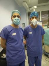 Με τον πρωτοπόρο στη Λαπαροσκοπική Χειρουργική Καθηγητή Yves Panis (Hôpital Beaujon, Paris 2015).