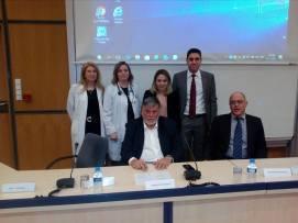 Ως ομιλητής σε εκδήλωση αφιερωμένη στη Λαπαροσκοπική Χειρουργική του Παχέος Εντέρου (Ερρίκος Ντυνάν Hospital Center, Αθήνα 2017).