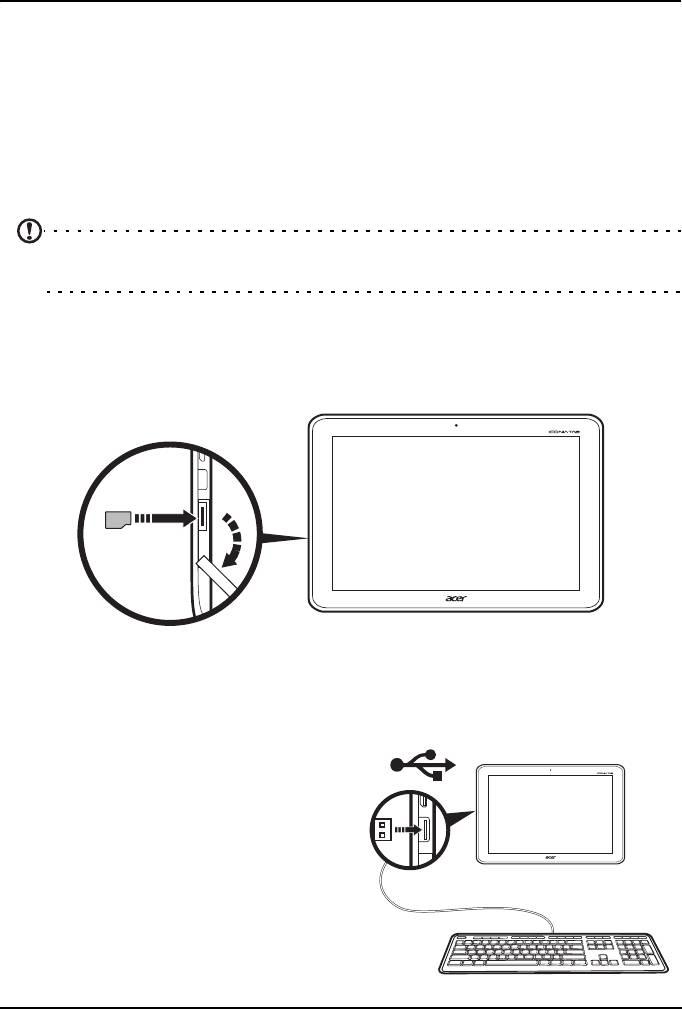 Планшет Acer Iconia Tab A200 32Gb Red. Подключение