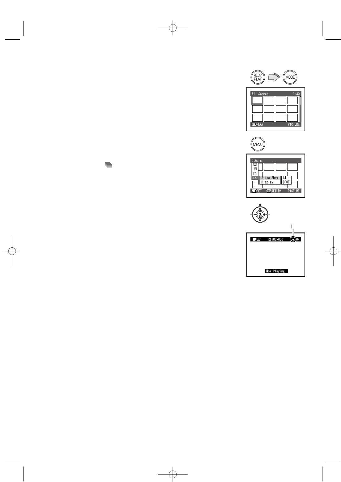 Видеокамера Panasonic SV-AV100. Слайд-шоу (покадровый