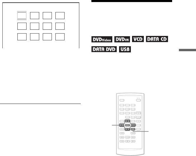 Портативный Плеер Sony DVP-FX 720. 2 Нажмите C/X/x/c, чтобы