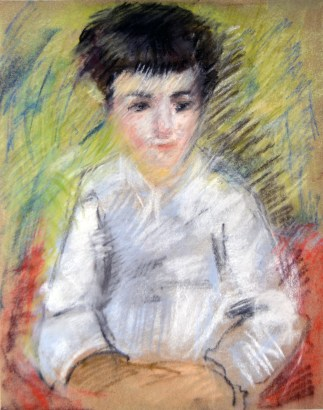 Renoir-Learning from the masters - Pastel -2016