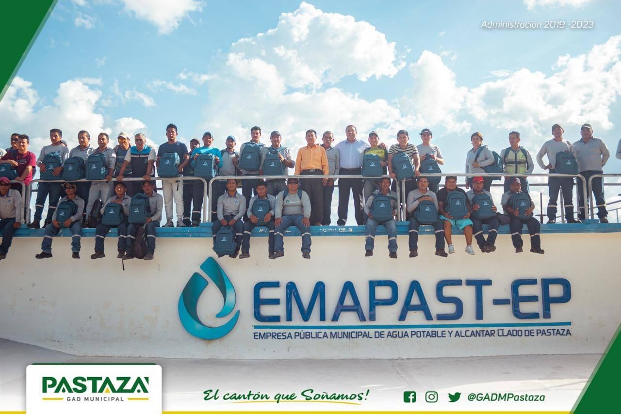 |#Emapast| Personal De Emapast Recibió Implementos De Seguridad El Alcalde