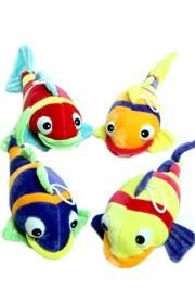 9in Tropical Fish Plush