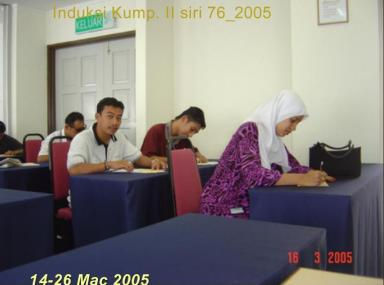 Pendaftaran Kursus Induksi Jabatan Kerajaan