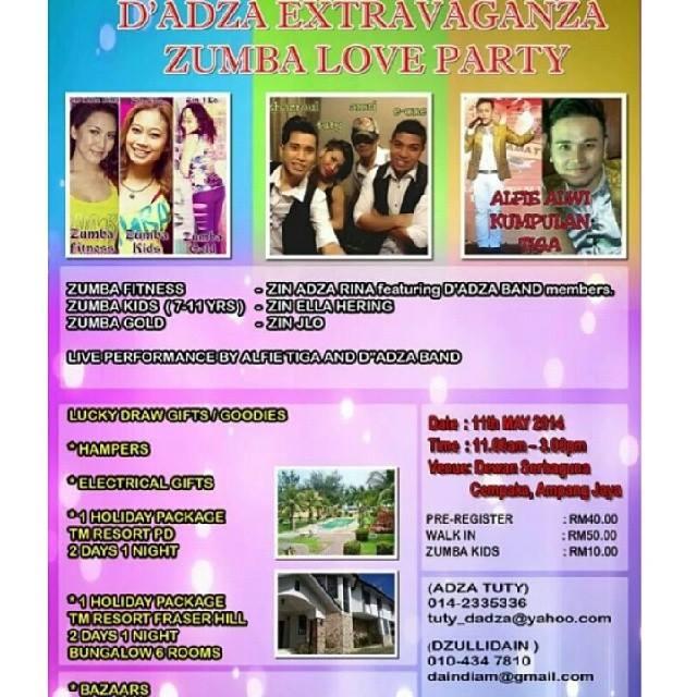 DiAdza Extravangaza Party