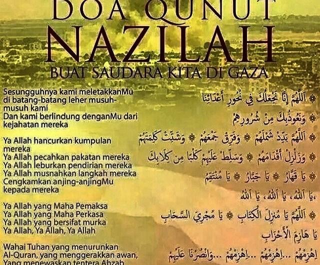 Doa Untuk Saudara Kita Di Gaza