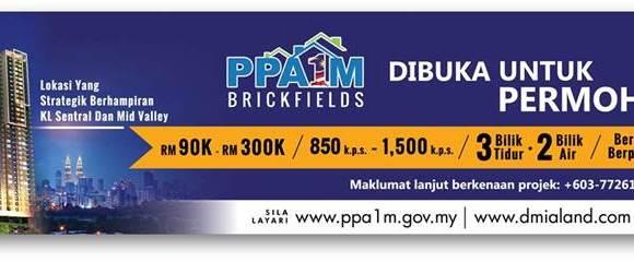 Rumah PPA1M Brickfields Jadi Rebutan