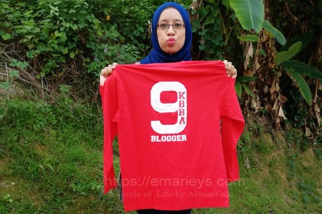 Merah Menyala T-Shirt Dari Servis Percetakan Zy Printpack Sdn Bhd