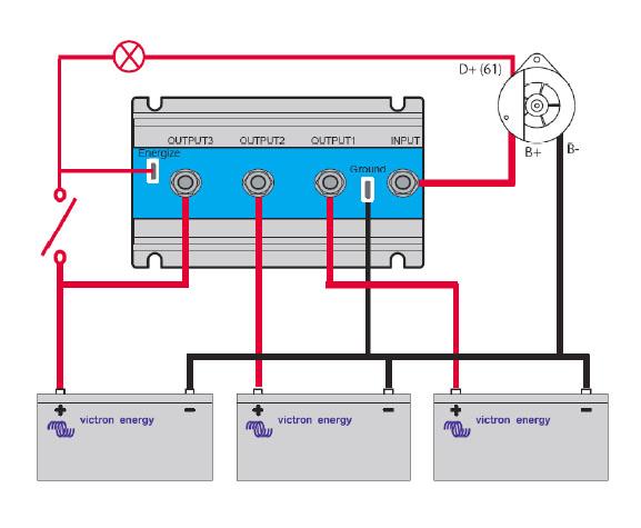 Victron Energy FET Battery Isolators