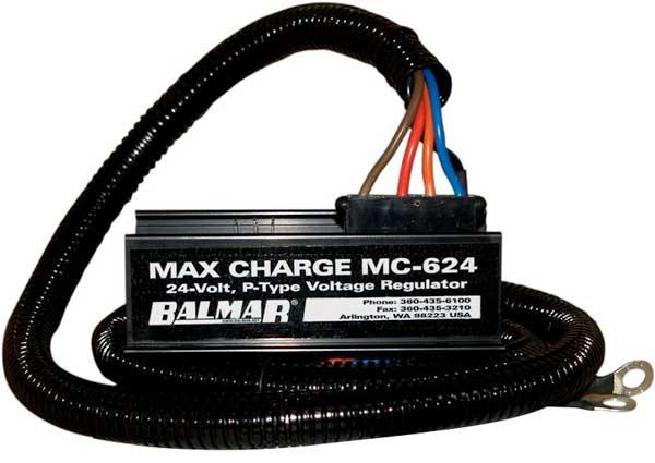 Balmar MC-624-H Multi Stage Regulator 24V With Harness