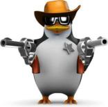 penguin cop