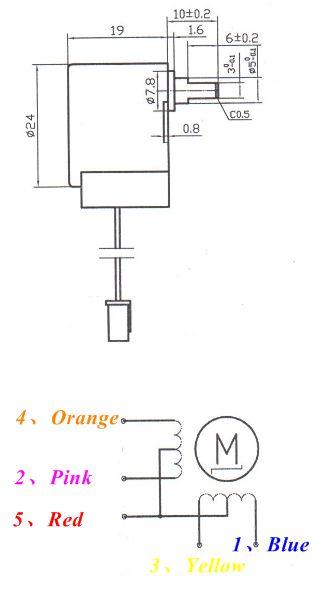 model t wiring diagram kidney function 24byj-48 high quality stepper motor 12v - emartee.com