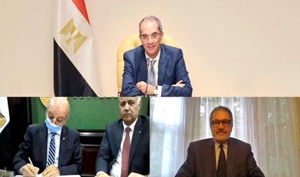 وزارة الاتصالات وجامعة الاسكندرية توقعان اتفاقية لتنفيذ مشاريع بحثية تطبيقية باستخدام أحدث التقنيات