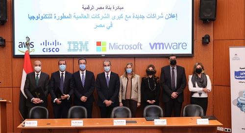 وزير الاتصالات: مبادرة بناة مصر الرقمية تقدم نموذجا فريدا للتعاون