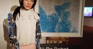 """""""أيدا"""" أول فنان روبوت واقعي في العالم"""