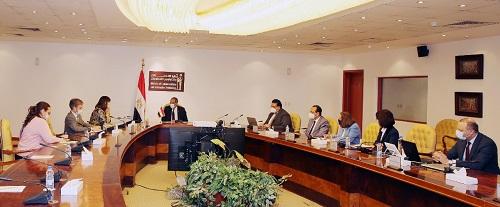 الدكتور/ عمرو طلعت يستعرض الاستراتيجية الوطنية لبناء مصر الرقمية مع الممثل المقيم للأمم المتحدة بالقاهرة