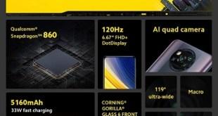 مواصفات قياسية لأحدث هواتف POCO فى السوق المصرية