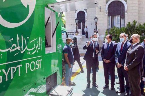 وزير الاتصالات: جميع السيارات التابعة للبريد المصري محلية الصنع 100%