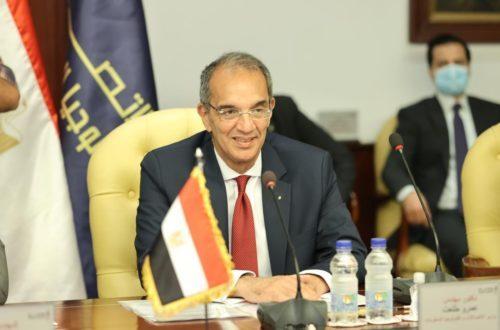 وزير الاتصالات يؤكد على عمق العلاقات المصرية والعراقية