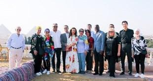"Diplomats and dignitaries take part in 1st horse lovers' gathering at ""Al-Hakam"" farm"