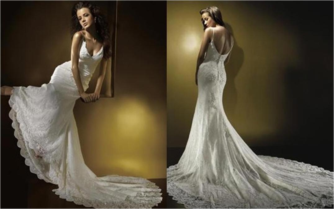 Mermaid Inspired Wedding Dress