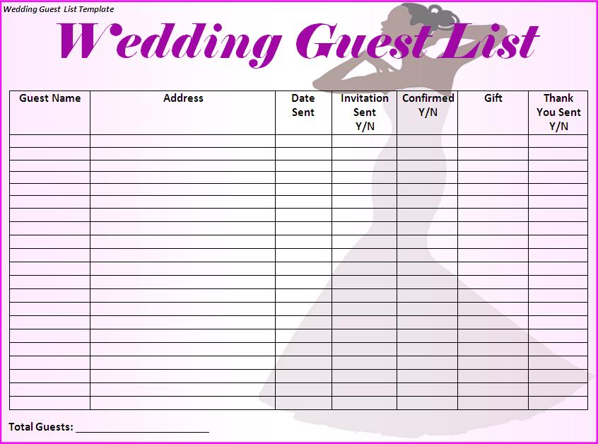 Wedding Planning Checklist Printable