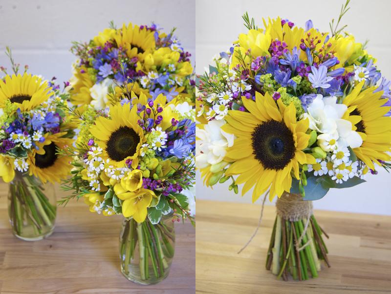 Sunflower Bouquet Wedding