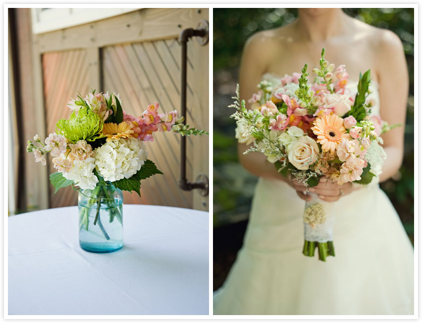 Flowers For A Rustic Wedding