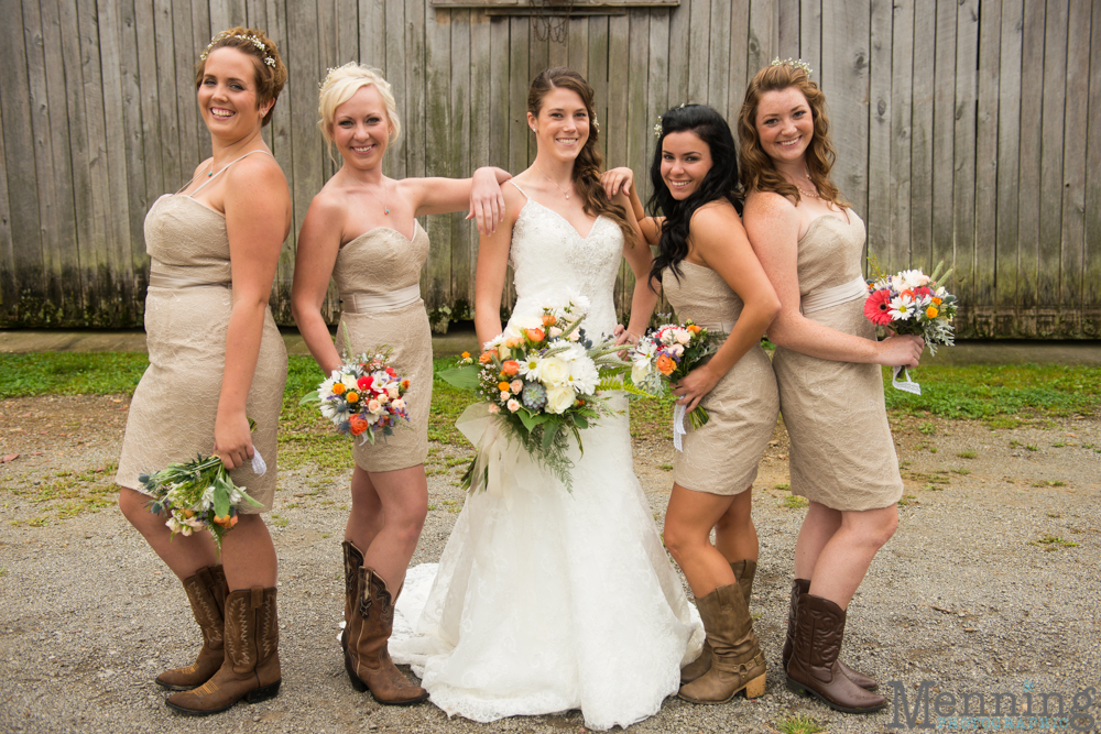 Rustic Wedding Bridesmaid Dress