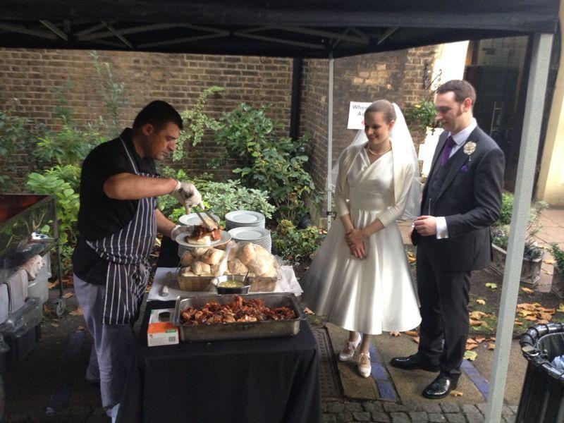 Pig Roast Wedding