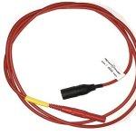 PV testing lead, MC3 - banana, red