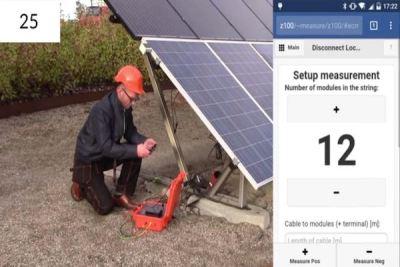 Solar cable Riso fault