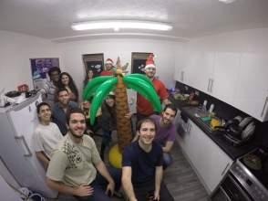 Natal do Arnaldo em Portsmouth (O que está tirando a Selfie)