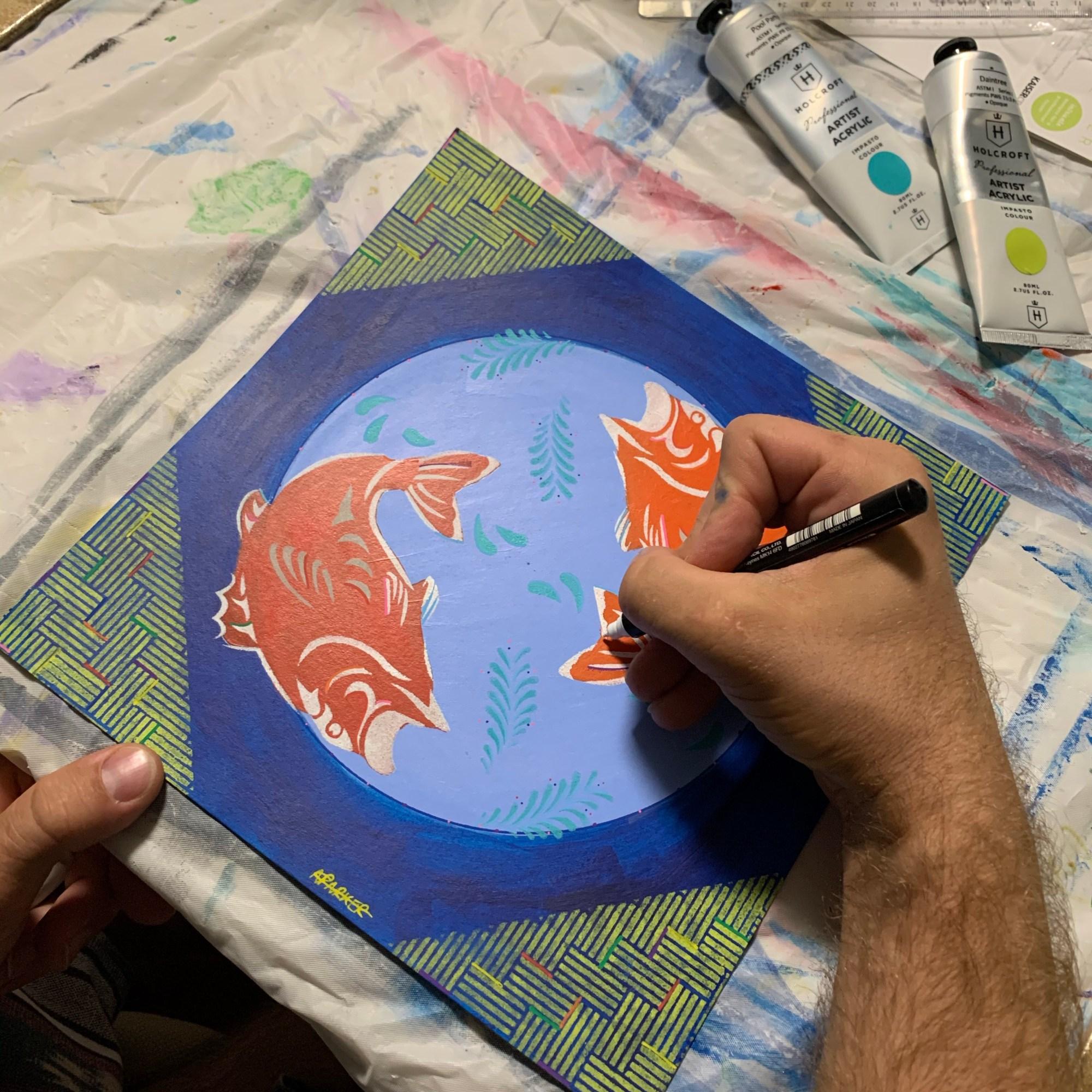 Embarked Mini Mandala Painting Workshops
