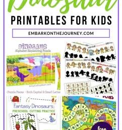 Dinomite Dinosaur Printable Activities for Kids Ages 3-8 [ 1102 x 735 Pixel ]