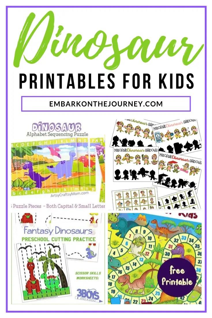 medium resolution of Dinomite Dinosaur Printable Activities for Kids Ages 3-8