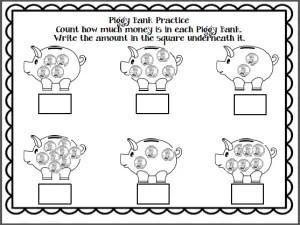 Kindergarten Math Worksheets {Review}