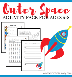 Free Solar System for Kids Printable Ages 3-8 [ 1080 x 1080 Pixel ]