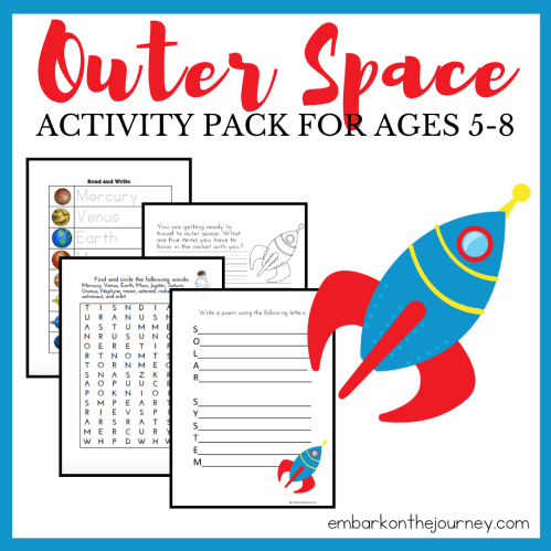 small resolution of Free Solar System for Kids Printable Ages 3-8