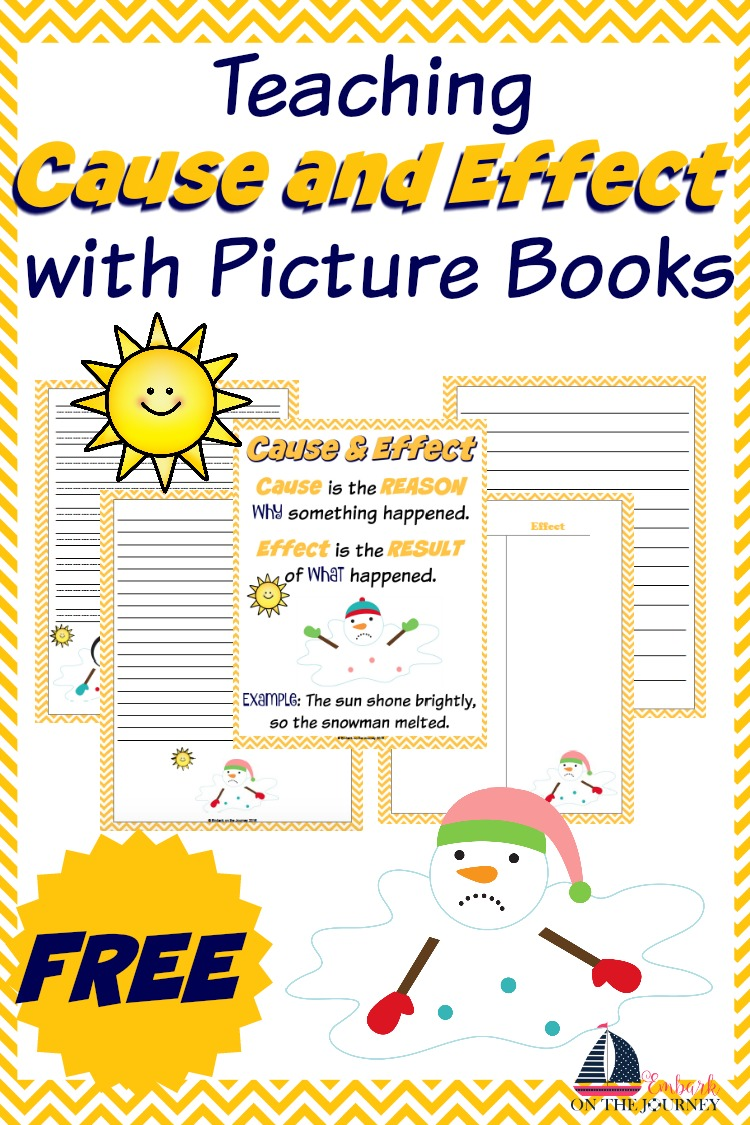 Teaching Cause and Effect with Picture Books