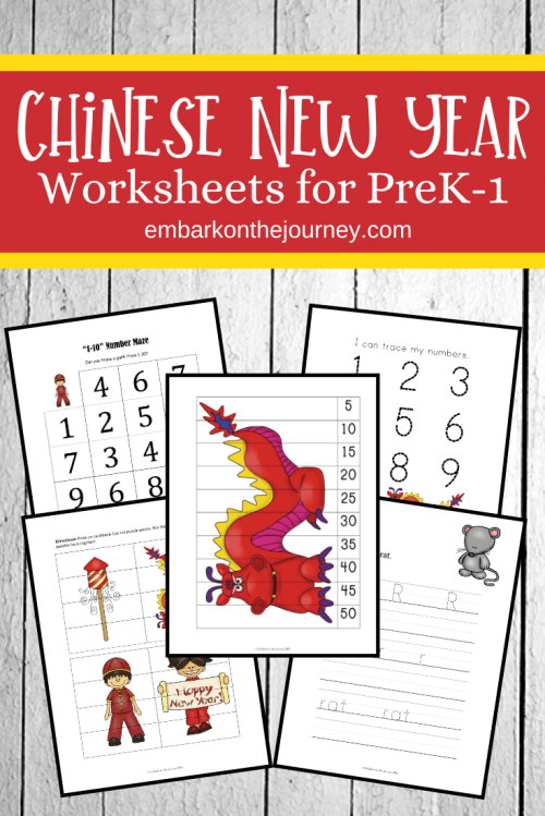 small resolution of Free Chinese New Year Printable for PreK-Grade 1