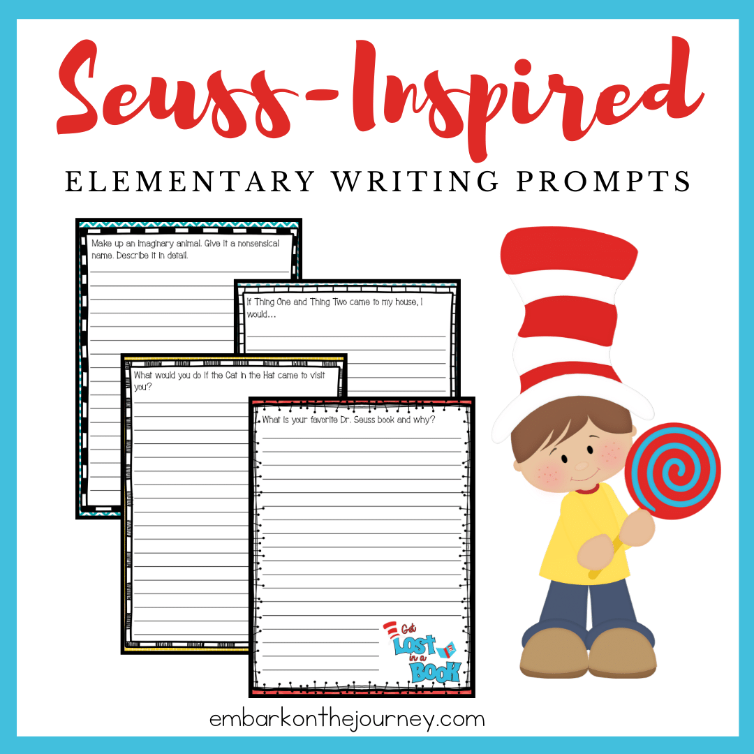 Free Printable Elementary Dr Seuss Writing Prompts